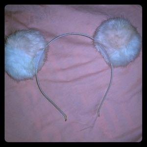 Puffy ear Headband & 2 Bonus Mask